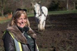 Lucy Hadfield, chair of Friends of Ruskin Park